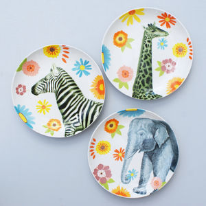 Safari Animal Plate
