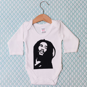 'Bob Marley' Baby Grow - babygrows
