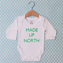 'Made Up North' Baby Grow