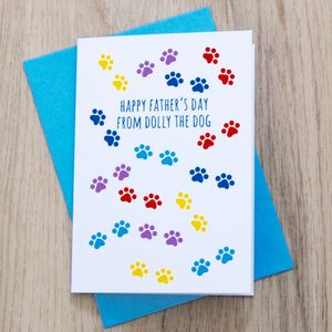 Personalised Father's Day Card From The Cat/Dog - view all sale items