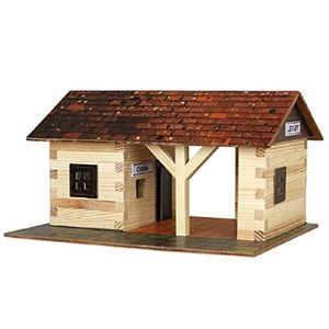 Build Your Own Wooden Railway Station - toys & games