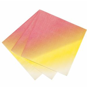 Ombre Summer Napkins - dining room