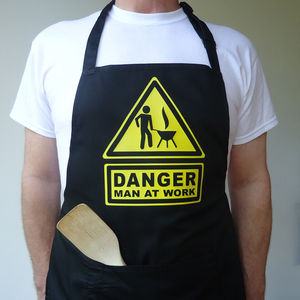 Men's Barbecue Apron - aprons