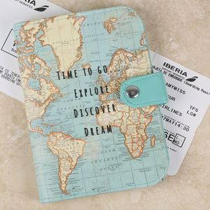 Map Print 'Time To Go Explore' Passport Cover - passport & travel card holders