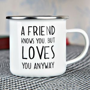 A Friend Knows You Mug - mugs
