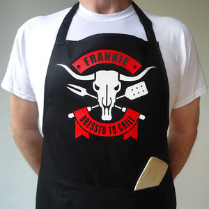 Personalised Barbecue Apron - baking