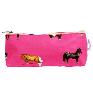 Horse Pencil Case/ Brush Bag - make-up bags