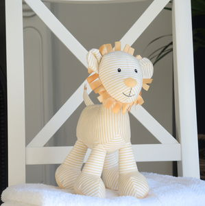 Baby's Yellow Lion Toy