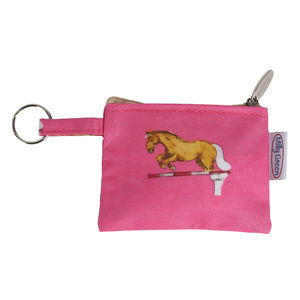 Horse Coin Purse With Key Ring - view all sale items