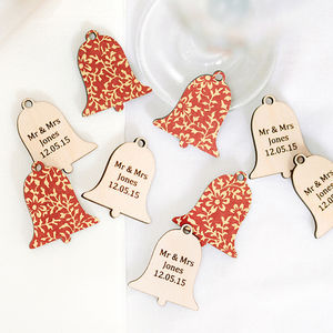 Wedding Bells Personalised Favours