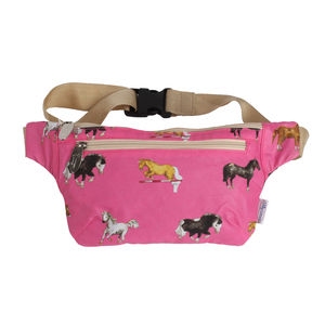 Pink Horse Bum Bag - backpacks