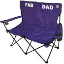 Fathers Day Personalised Outdoor Double Folding Chair