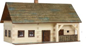 Build Your Own Wooden Home - traditional toys & games