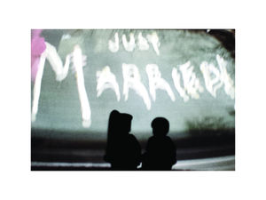 Just Married Limited Print - art & pictures
