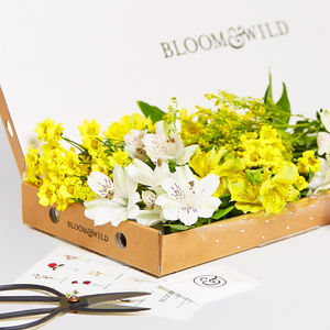 Three Month Fortnightly Letterbox Flower Subscription - gifts for grandparents