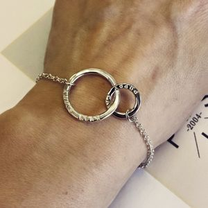 Personalised Silver Link Bracelet - gifts for her
