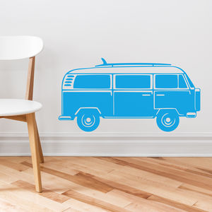 Campervan Vinyl Wall Sticker - decorative accessories