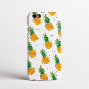 Pineapple Print Phone Case - tech accessories for her