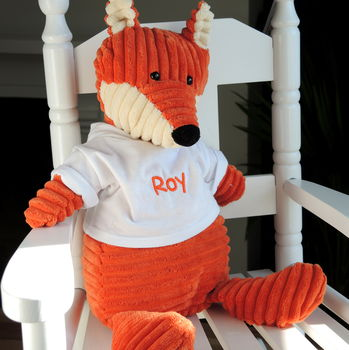Personalised Cordy Fox Toy