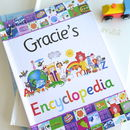 Personalised Childs Gift Boxed Encyclopedia Book