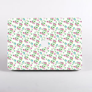Summer Flowers Print Hard Case For Mac Book