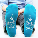 Personalised Men's You Rock Socks