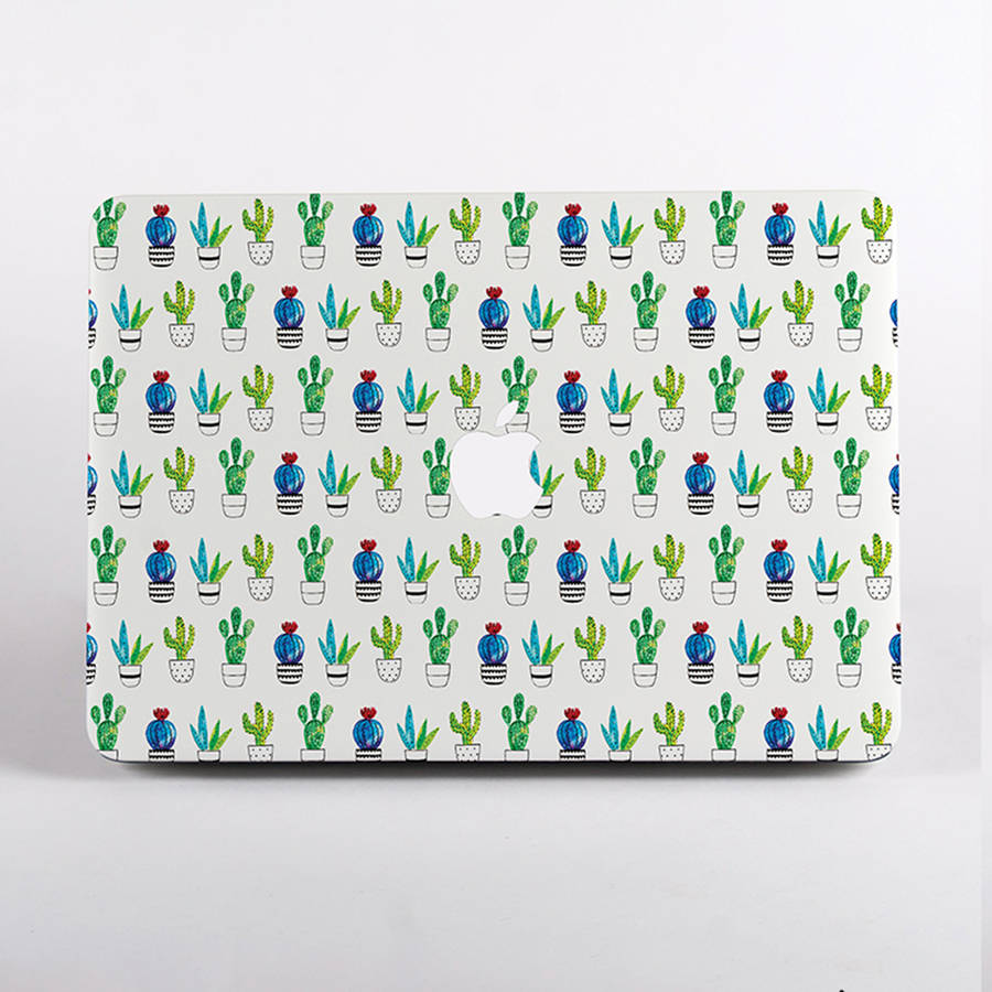Cactus Print Hard Case For Mac Book