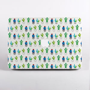 Cactus Print Hard Case For Mac Book - laptop bags & cases