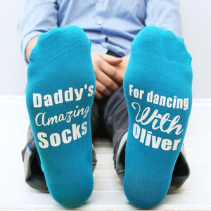 Personalised Mens Dancing Socks - underwear & socks