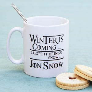 'Winter Is Coming' Mug