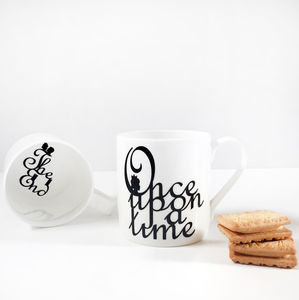 'Once Upon A Time' Fine Bone China Mug