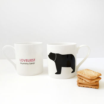 Loveliest Mummy Bear Fine Bone China Mug