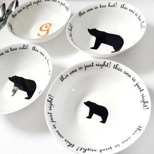 Goldilocks And The Three Bears Porridge Bowls