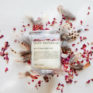 Queen Of Roses Bath Milk - bridal beauty