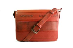 Reclaimed Fire Hose Messenger Bag - shoulder bags