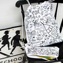 Colour In Kit Bag Or Pencil Case