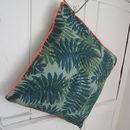 Botanical Print Cushion