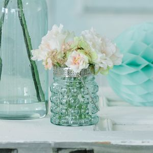 Rose And Blossom Deco Hanging Jar