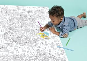 Super Giant Atlas Colouring Roll - books