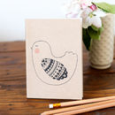 Blushing Bird Notebook