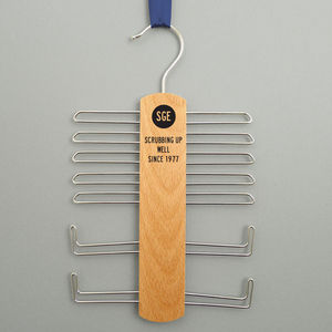 Initialled Tie Rack And Belt Hanger - new in home