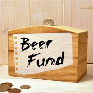 Beer Fund Money Box - storage & organisers