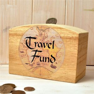 Travel Fund Money Box - storage & organisers