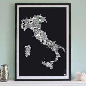 Personalised Italy Print