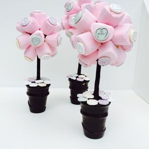 Personalised Marshmallow Love Heart Tree