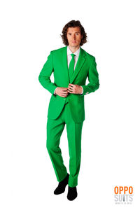 Green Suit Fancy Dress Costume