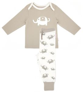 Lucy And Sam Printed Elephant Pj's