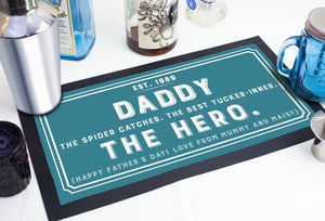 Personalised Bar Runner - kitchen