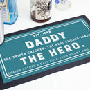 Personalised Bar Runner Home Bar Accessory