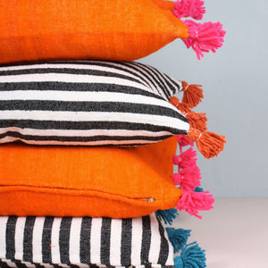 Stripe Oversized Cushions - furniture